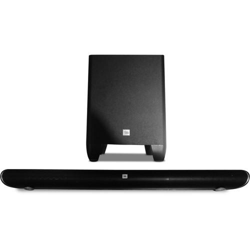 JBL Cinema SB250 200W 2.1-Channel Soundbar System CINEMA SB250