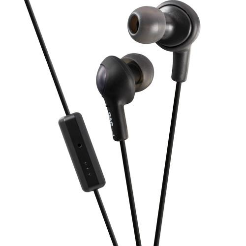 JVC  JVC HA-FR6 Gumy Plus Earbuds (Black) HA-FR6B