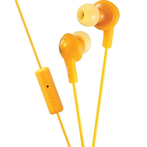 JVC JVC HA-FR6 Gumy Plus Earbuds (Orange) HA-FR6D