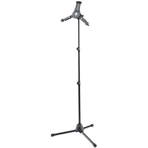 K&M 19793 Tablet PC Stand with Tripod Base (Black) 19793.300.55