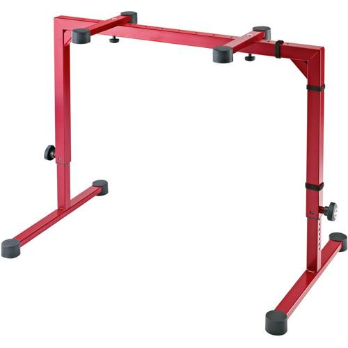 K&M Omega Table-Style Keyboard Stand (Ruby Red) 18810.015.91