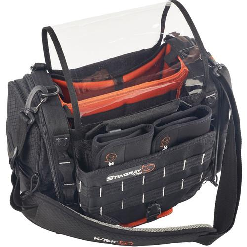 K-Tek Stingray Small Audio Mixer/Recorder Bag with Rain Bib Kit