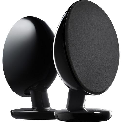 KEF EGG Wireless Digital Music System (Gloss Black) EGGBL
