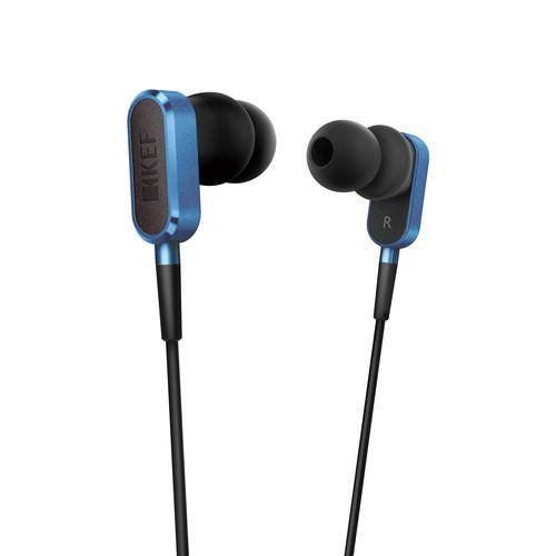 KEF  M100 Hi-Fi Earphones (Blue) M100RB