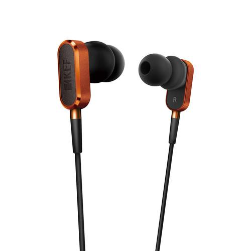 KEF  M100 Hi-Fi Earphones (Orange) M100SO