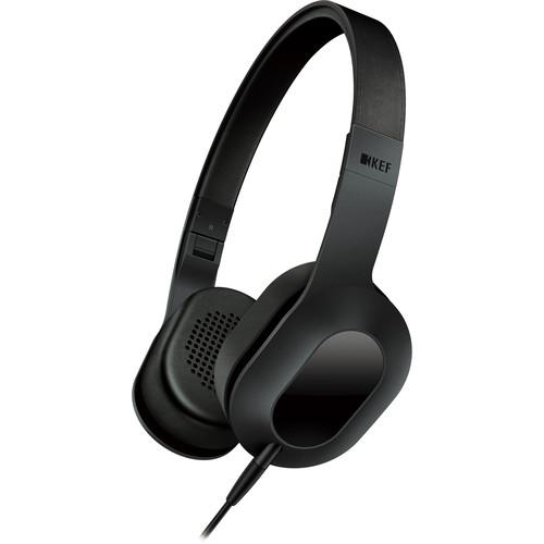 KEF  M400 Hi-Fi On-Ear Headphones (Black) M400BL