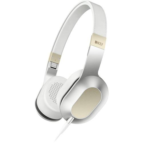 KEF  M400 Hi-Fi On-Ear Headphones (Gold) M400GOLD