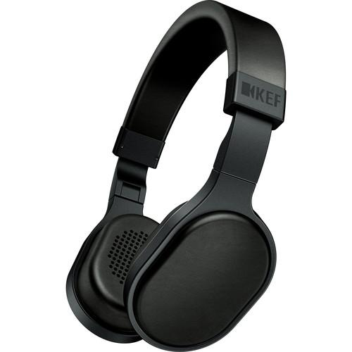KEF  M500 Hi-Fi On-Ear Headphones (Black) M500BL