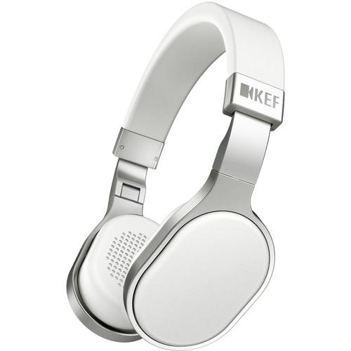 KEF  M500 Hi-Fi On-Ear Headphones (White) M500WH