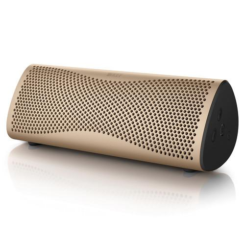KEF MUO Portable Bluetooth Wireless Speaker MUOGOLD