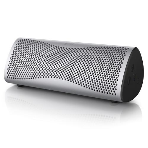 KEF MUO Portable Bluetooth Wireless Speaker MUOSILV