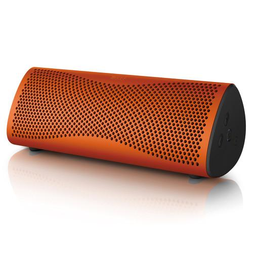KEF MUO Portable Bluetooth Wireless Speaker (Sunset Orange)
