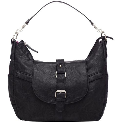Kelly Moore Bag B-Hobo Bag with Removable Basket KMB-HOBB-BLK