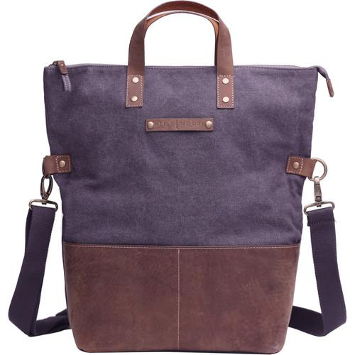 Kelly Moore Bag Collins Canvas & Leather KMB-CLN-GRY/KM-4035