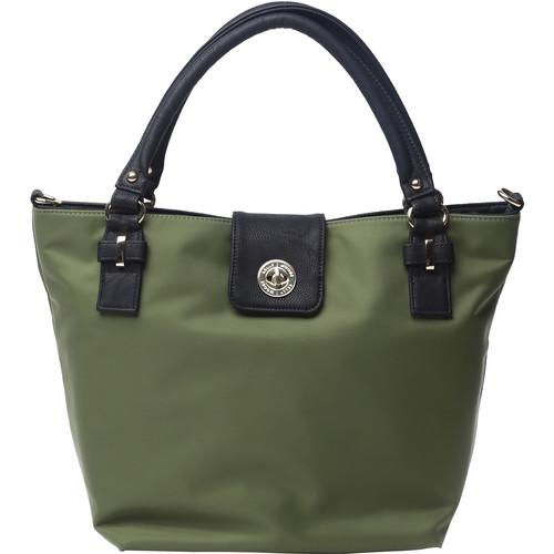 Kelly Moore Bag Saratoga Bag with Removable Basket KM-1813 GREEN