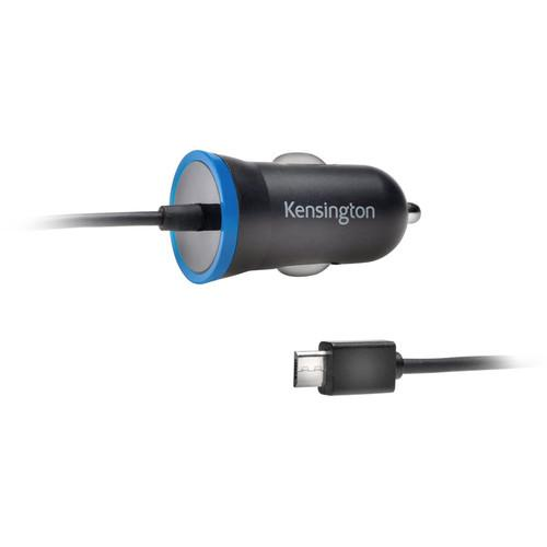 Kensington PowerBolt 2.6 Micro-USB Car Charger (Black) K38226WW