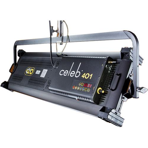 Kino Flo Celeb 401 DMX LED Light (Yoke Mount) CEL-401Y-230U