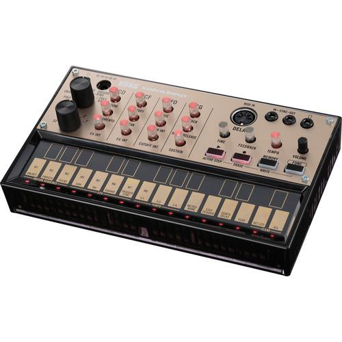 Korg Volca Keys Analog Synth with Teenage Engineering PO-12