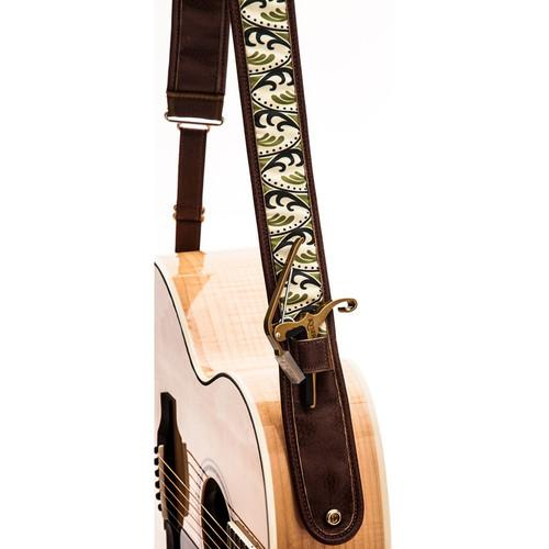 KYSER Kyser KS1A Guitar Strap (Spring K, Brown) KS1A