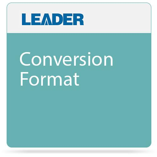 Leader  Conversion Format VC7ASYSXX