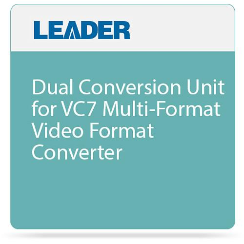 Leader Dual Conversion Unit for VC7 Multi-Format Video VC7000003