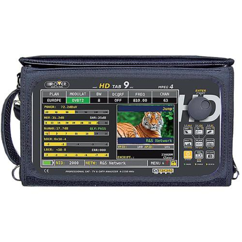 Leader HD TAB 9-A ASI Transport Stream Reader and IP HD TAB 9-A