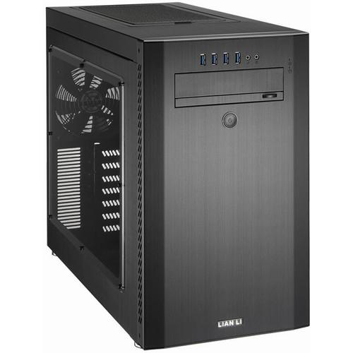 Lian Li PC-A51WX Mid Tower Desktop Case (Black / Black) PC-A51WX