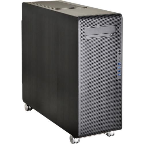 Lian Li PC-V1000LB Full Tower Desktop Case (Black) PC-V1000LB