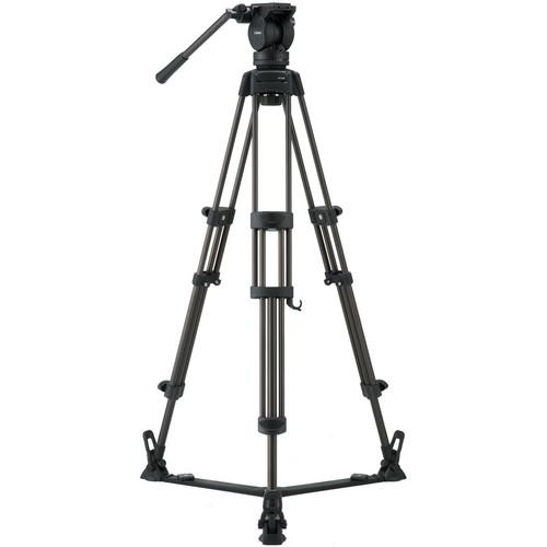 Libec LX7 Tripod With Pan and Tilt Fluid Head and Floor LX7