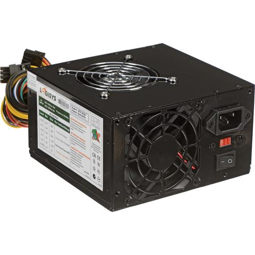 Logisys 550W Dual Fan Switching Power Supply (Black) PS550A-BK