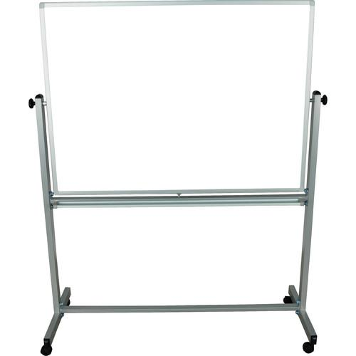 Luxor MB4836WW Mobile Magnetic Reversible Whiteboard MB4836WW
