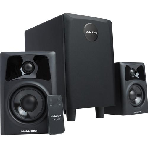 M-Audio AV32.1 Dual Speaker & Subwoofer System AV32.1