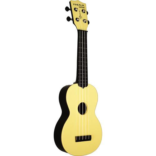 MAKALA MK-SWB/YL Waterman Soprano Ukulele (Pale Yellow)