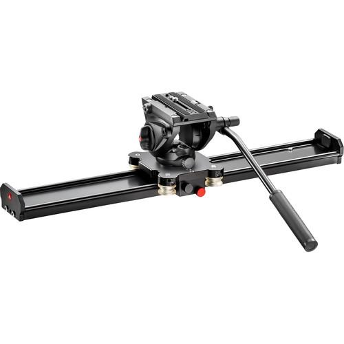 Manfrotto Camera Slider 60cm with MVH500AH Fluid MVS060AMVH500AH