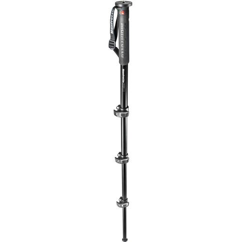 Manfrotto XPRO Over 4-Section Aluminum Monopod MMXPROA4US