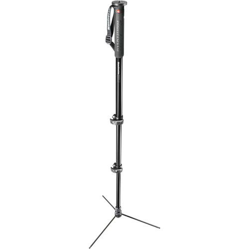 Manfrotto XPRO Prime Base 3-Section Aluminum Monopod MMXPROA3BUS