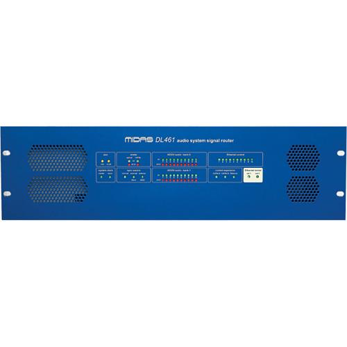 Midas Audio System HyperMAC Signal Router with 192 DL461