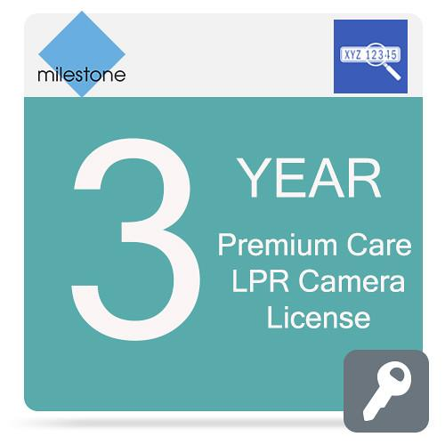 Milestone Care Premium for XProtect LPR Camera MCPR-Y3XPLPRCL