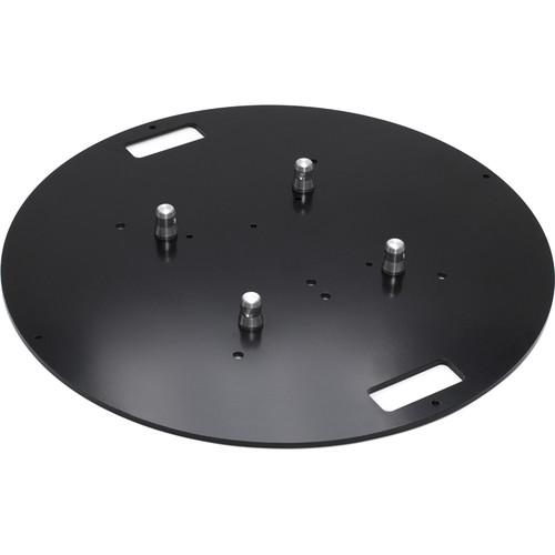 Milos QuickTruss Ultra Steel Round Baseplate UBPSTEELD80