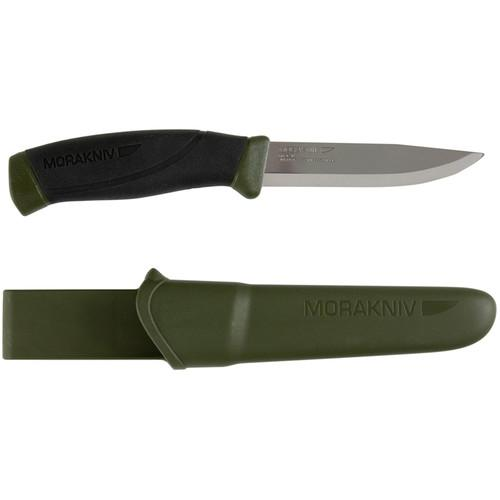 Morakniv Companion MG SS Fixed Knife M-11827-STAINLESS STEEL