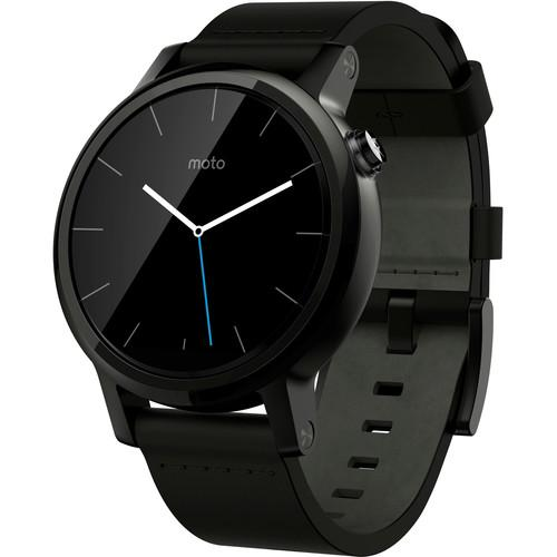 Motorola 2nd Gen Moto 360 42mm Men's Smartwatch 00816NARTL