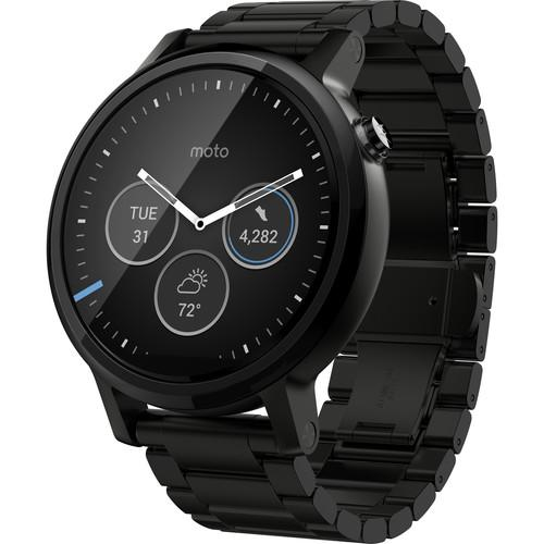 Motorola 2nd Gen Moto 360 46mm Men's Smartwatch 00819NARTL