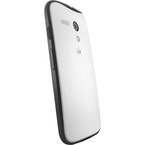 Motorola Grip Shells for Moto G 1st Gen (White/Black) 89695N