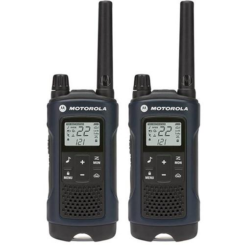 Motorola  T460 2-Way Radio (Blue, 2-Pack) T460