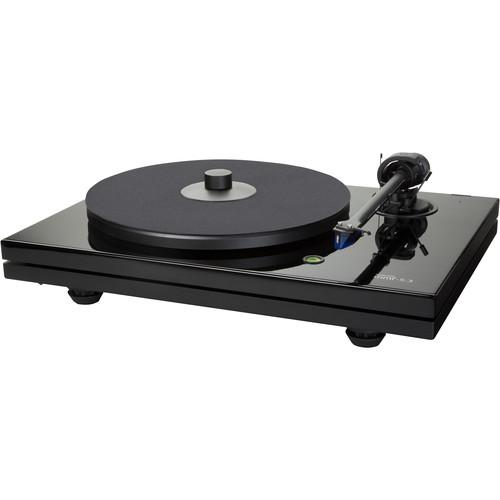 Music Hall MMF-5.3 Turntable (Piano Black) MMF-5.3