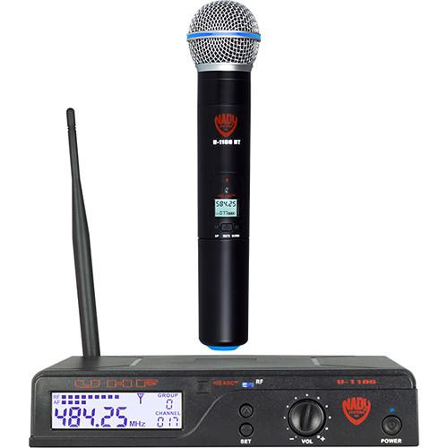 Nady U-1100 HT UHF Cardioid Dynamic Wireless Handheld U-1100 HT