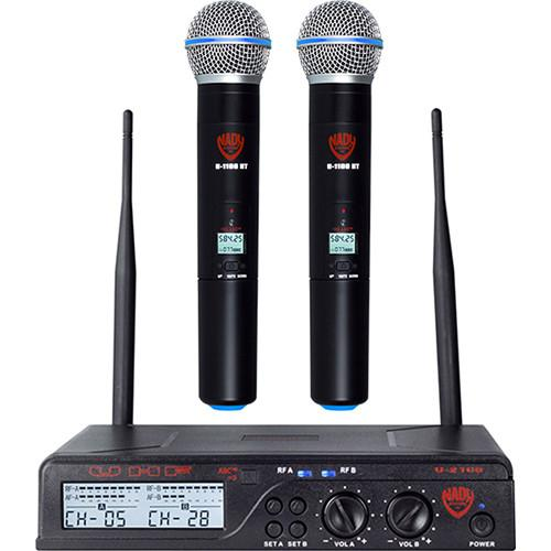 Nady U-2100 HT UHF Cardioid Dynamic Wireless Handheld U-2100 HT