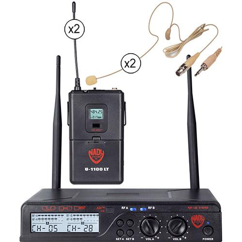 Nady U-2100 Over-the-Ear UHF Wireless Microphone U-2100 / HM-45U