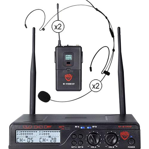 Nady U-2100 Unidirectional UHF Wireless System U-2100 / HM-20U