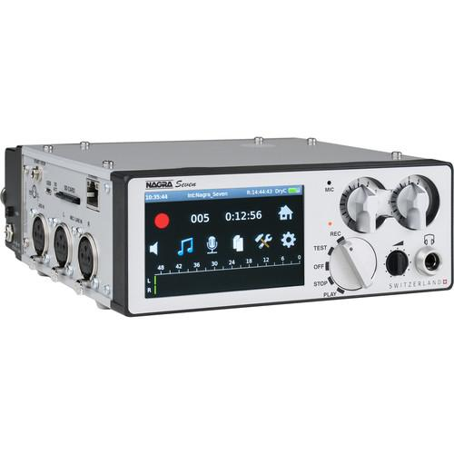 Nagra Seven 2-Channel Portable Digital Recorder SEVEN ISDN